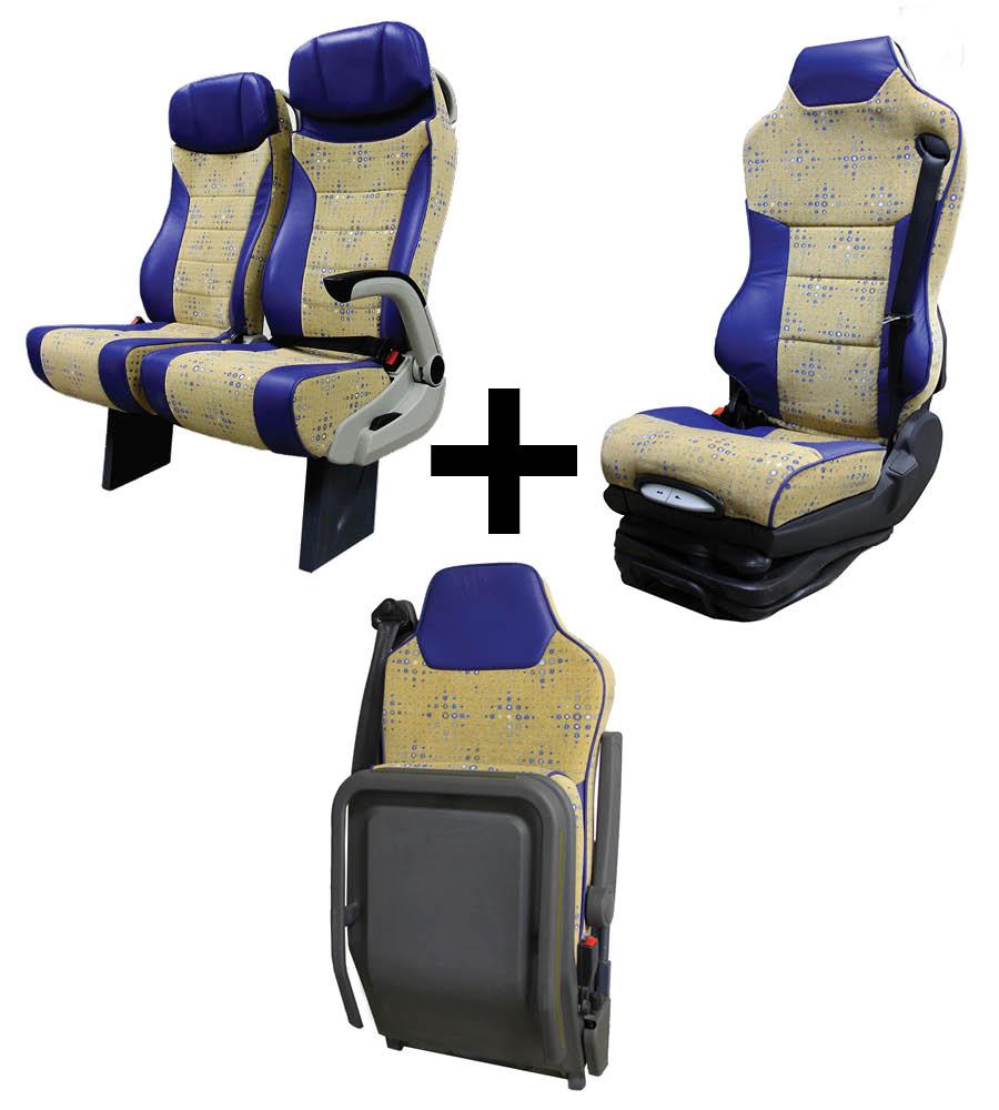 Pack Confort, asiento conductor, Guía y butacas