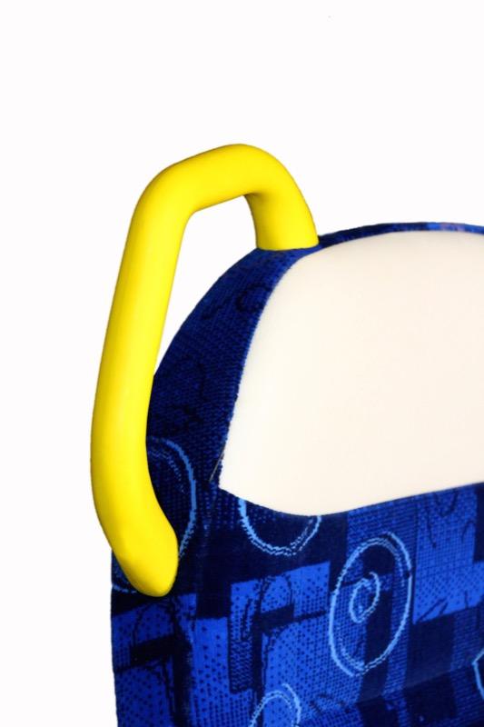 Agarrador vertical Plan Osiris color Azul con agarrador vertical